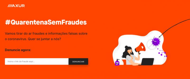 Axur lança campanha para denúncia e remoção de sites que promovem informações falsas