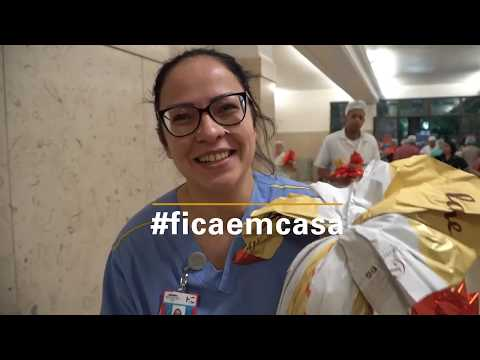 Tokio Marine faz doação de Ovos de Páscoa a profissionais de saúde em São Paulo