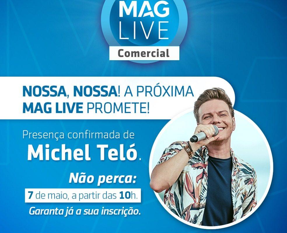 MAG Seguros realiza live nesta quinta-feira com participação especial