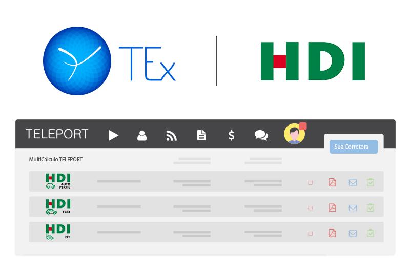 TEx é a primeira a disponibilizar os produtos HDI Fit e HDI Flex por meio do TELEPORT