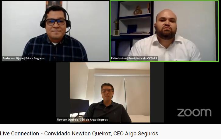 CCS-RJ apresenta nova parceira Argo Seguros a associados