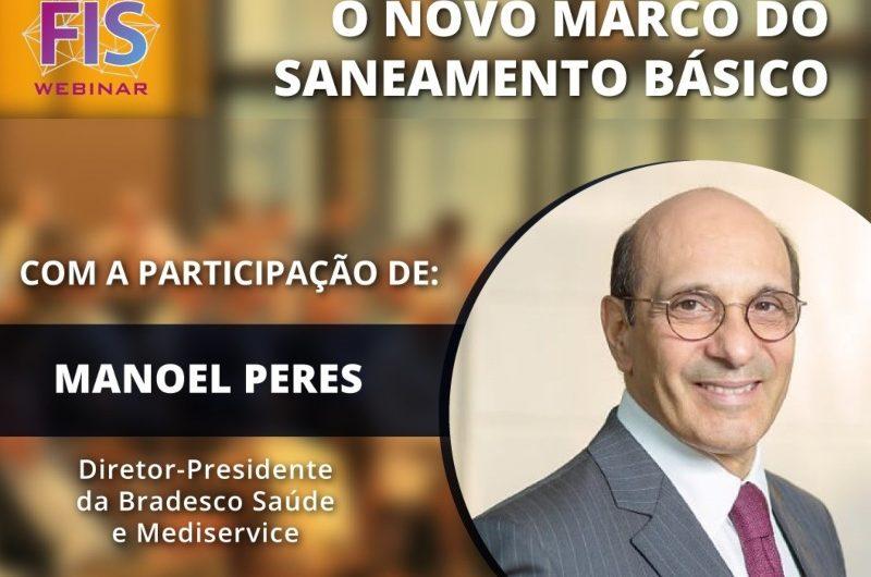 Presidente da Bradesco Saúde fala sobre novo marco regulatório de Saneamento Básico