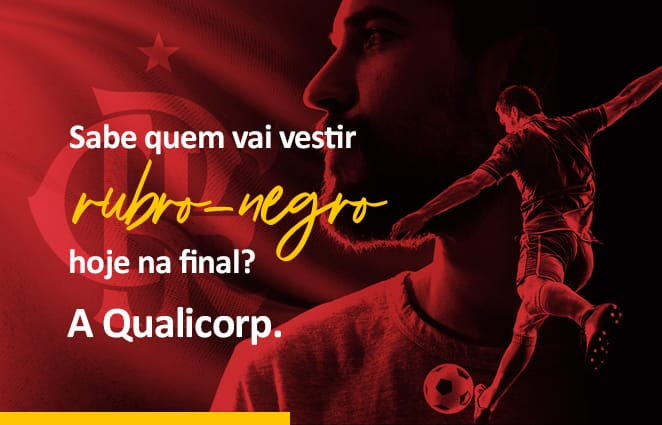 Qualicorp fecha parceria com Flamengo e terá marca exposta na final do Carioca