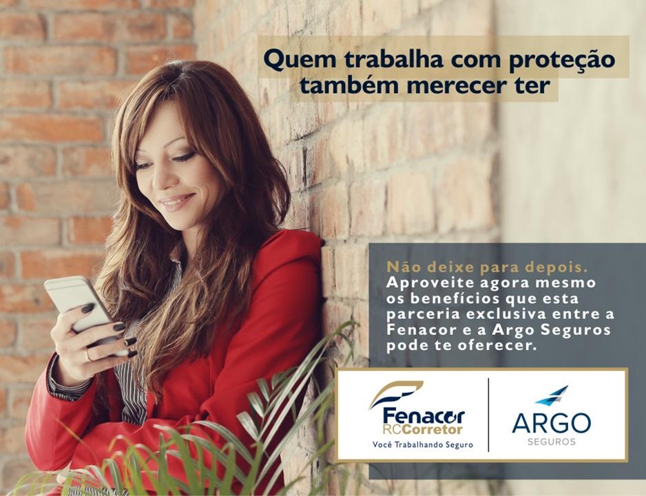 Parceria entre Fenacor e Argo Seguros oferece proteção de RC para corretores