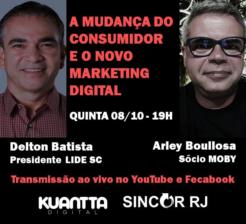Kuantta Digital promove transmissão remota sobre a mudança do consumidor e o novo marketing digital