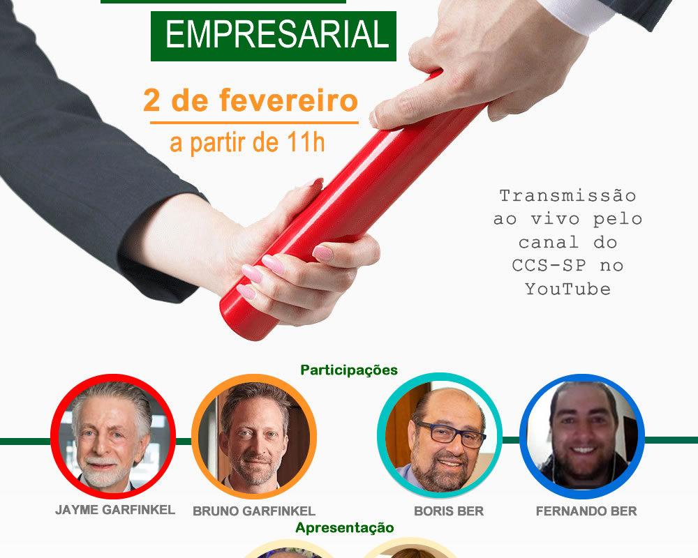 CCS-SP realizará live para debater sucessão empresarial