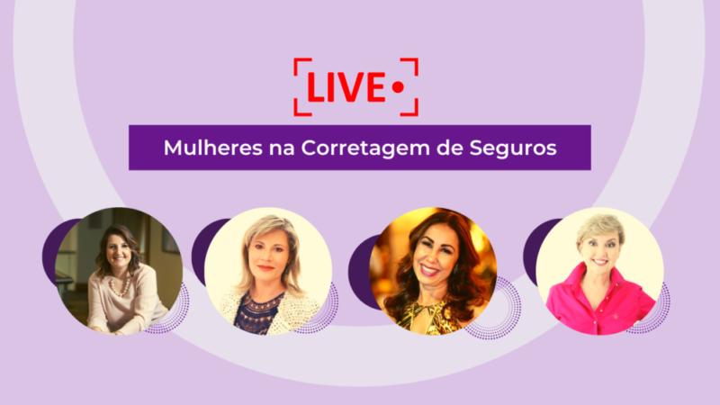 """Conhecer Seguros promove live com tema """"Mulheres na Corretagem de Seguros"""""""