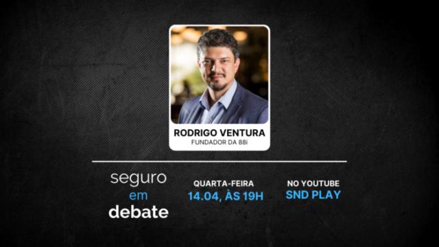 Fundador da startup 88i é o entrevistado do Seguro em Debate da próxima quarta