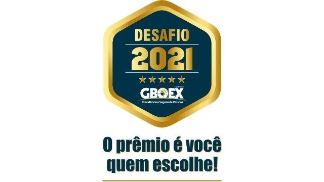 Campanha Desafio 2021 GBOEX garante mais prêmios para os corretores parceiros