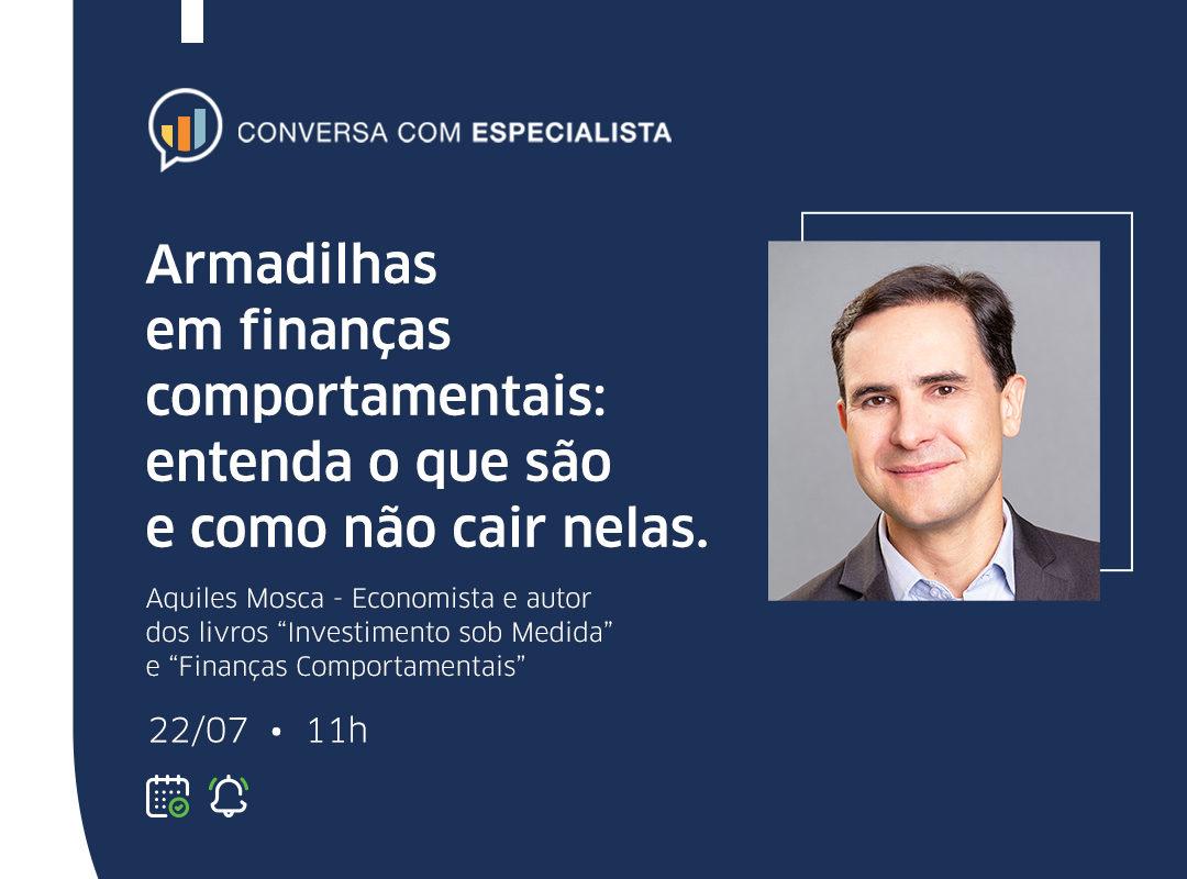 Icatu realiza live sobre armadilhas em finanças comportamentais